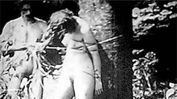 nazis and nude jewish women