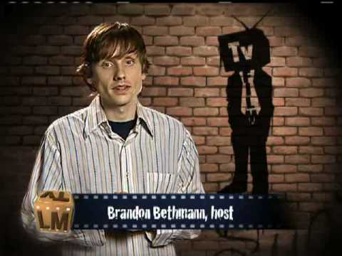 Brandon doing his thing as the host of TVFilm