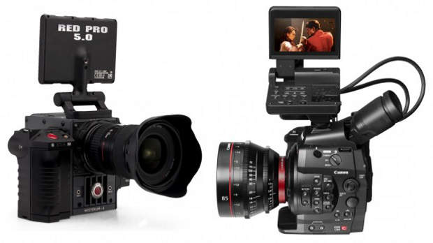 New Super 35 Digital Motion Picture Cameras from Canon and Red â ...
