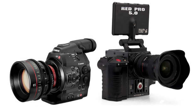 canon v red