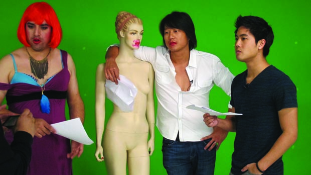 YouTube stars Antonio Alvarez, Sung Kang and Ryan Higa in Acting for Action