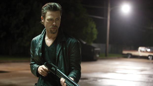 Brad Pitt in Killing Them Softly.