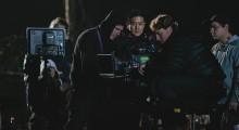 Tze Chun on set