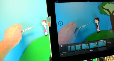 Creating Dragon's Den animation in iStopMotion for iPad