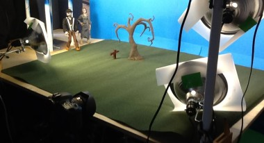 One of the sets from a test animation titled Memories