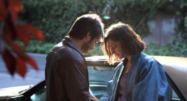 Gael García Bernal and Antónia Zegers in No.
