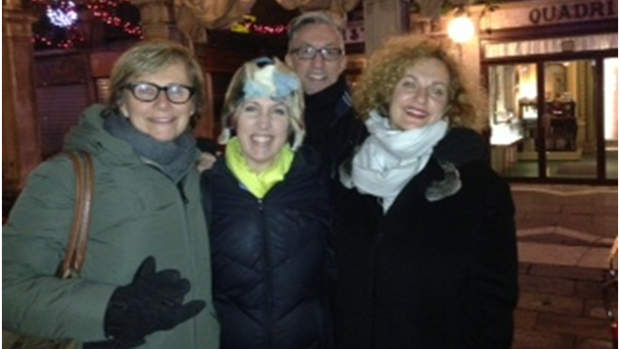 The College's Jane Williams, Amy Dotson, Michel Reilhac and Savina Neirotti