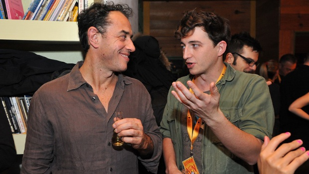 Director Matteo Garrone with Benh Zeitlin.