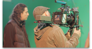 (right) Cinematographer Paul Del Vecchio