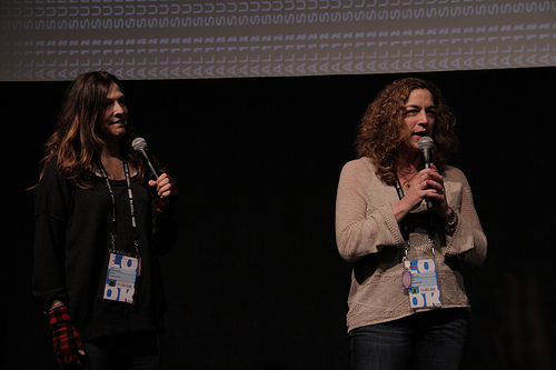 Directors Lori Silverbush and Kristi Jacobson
