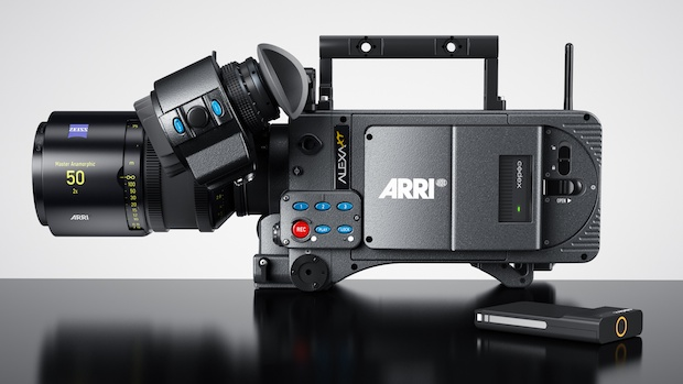 New ARRI Alexa XT with Codex XR module and 512GB XR Capture Drive.