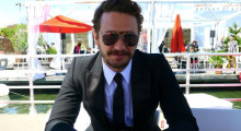James Franco in Cannes (Photo: Ariston Anderson)