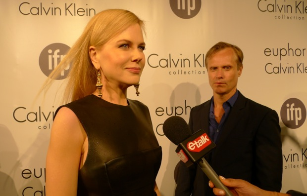 Nicole Kidman takes a break from Jury Duty at the IFP CK party.