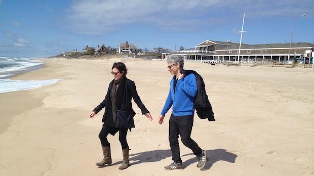 Lisa Muskat and Arnold Barkus.