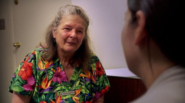 Dr. Susan Robinson in After Tiller