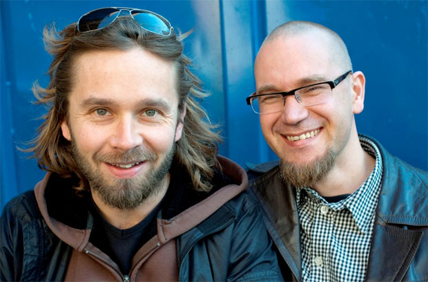 The Punk Syndrome directors Jukka Kärkkäinen and Jani-Petteri Passi