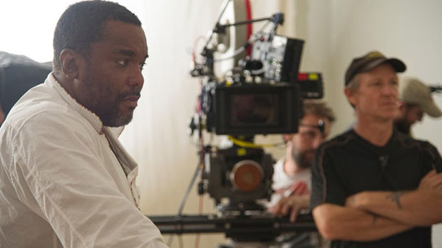 Lee Daniels on the set of The Butler