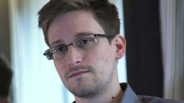 Edward Snowden, shot by Laura Poitras