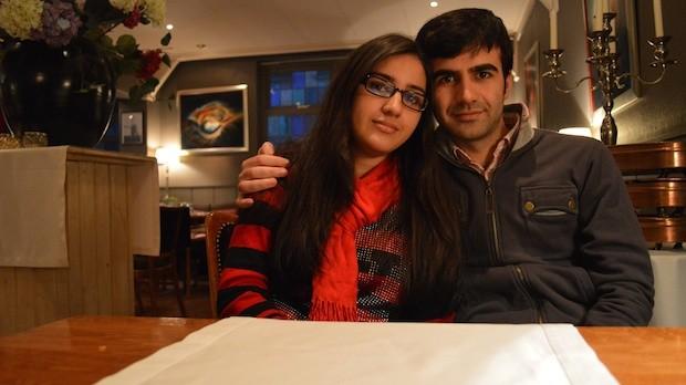 Marina Zaffari and A.J. Ahwar