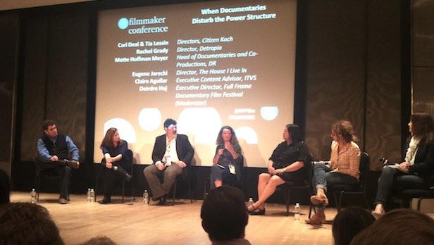 "Panel ""When Documentaries Disturb the Power Structure"""