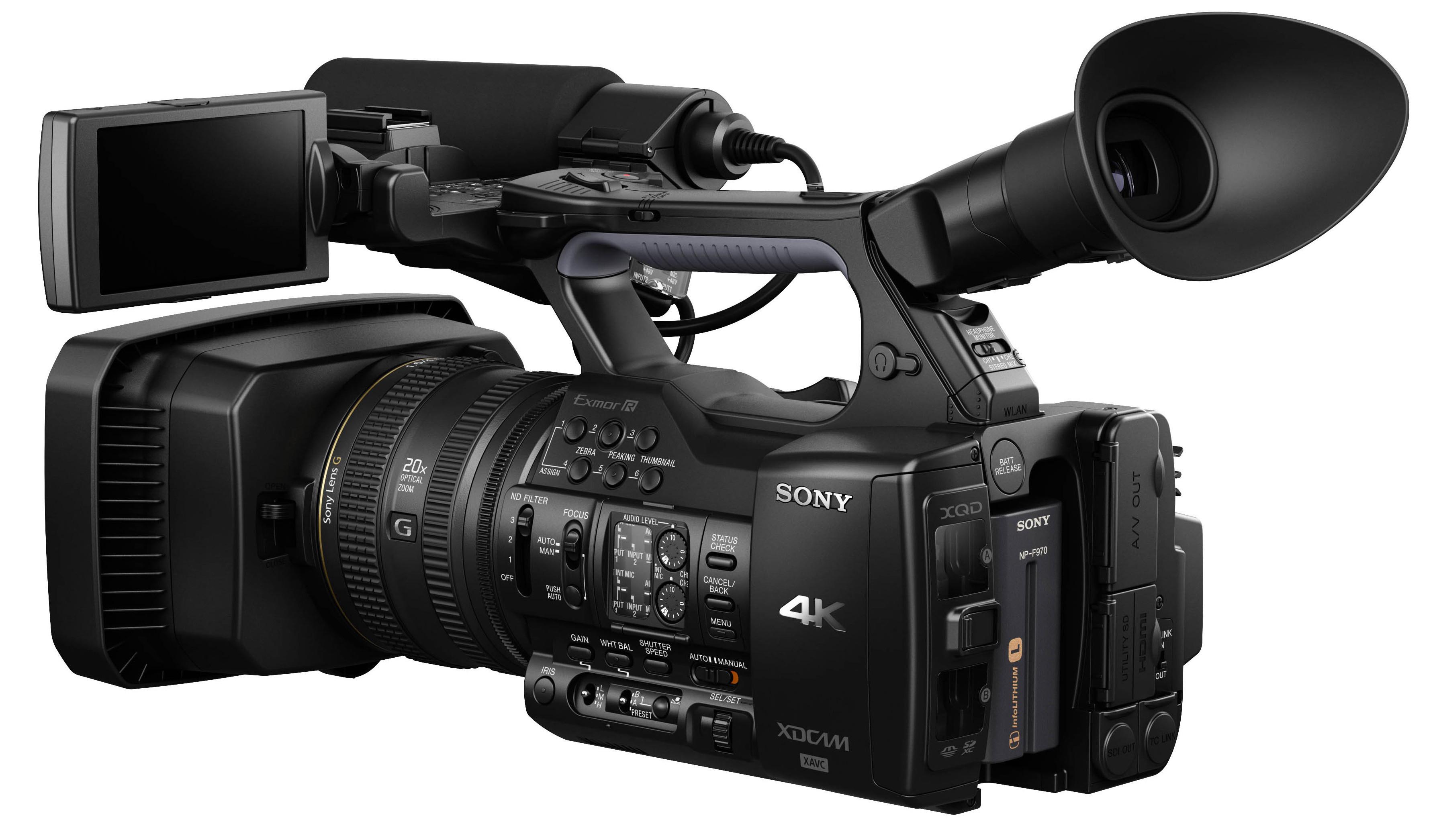 Sony announces pxw z100 ushers era of 4k camcorder - Tv in camera ...