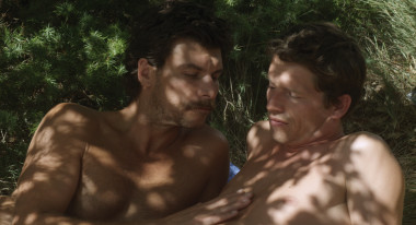 "Christophe Paou, Pierre Deladonchamps in ""Stranger by the Lake"""