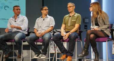 Fil & TV Panel: Matson, Mosam, Reinhardt and moderator Elle Schneider