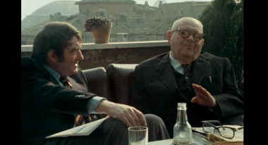 "Claude Lanzmann, Benjamin Murmelstein in ""The Last of the Unjust"""