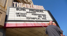 Burn premieres in Detroit