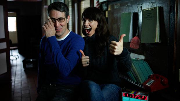 Tom Putnam and Brenna Sanchez