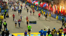 """Boston Marathon Moment 4:09:43"""