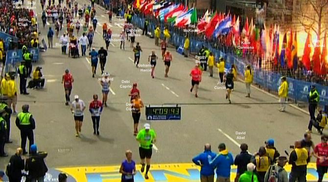 """""""Boston Marathon Moment 4:09:43"""""""