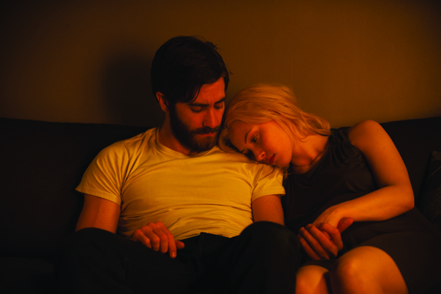 Jake Gyllenhaal and Sarah Gadon in Enemy