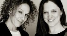Heidi Ewing (r) of The Arrivals, with Rachel Grady
