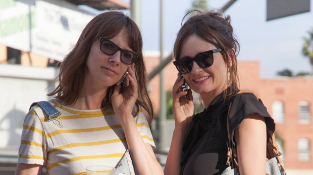 Dolly Wells and Emily Mortimer in Doll and Em