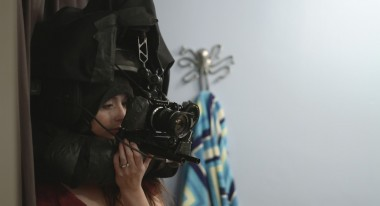 Melinda Cohen wearing the POV rig: Courtesy Devin Lawrence