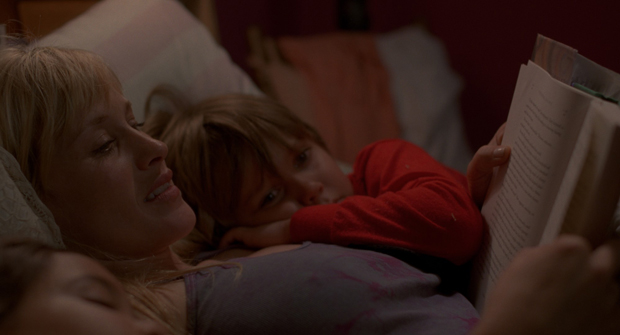 Lorelei Linklater, Patricia Arquette and Ellar Coltrane in Boyhood