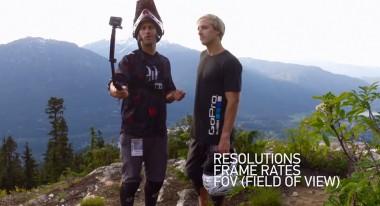 Abe Kislevitz and Caleb Farro of the GoPro Media Team