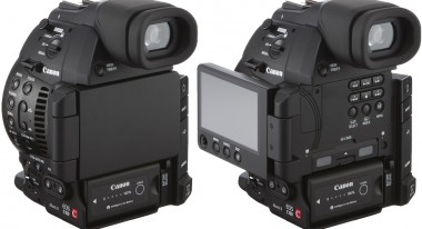 Canon C100 OLED rear screen