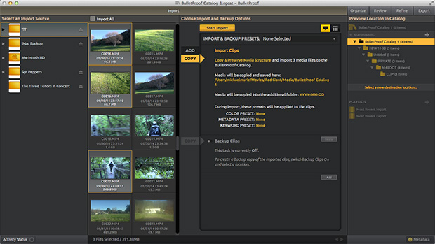 Red Giant's Shooter Suite: Video Acquisition and Image