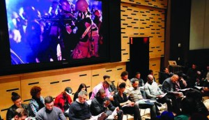 Do the Right Thing live reading at Lincoln Center/Photo by Julie Cunnah