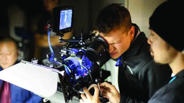 Cameraman loves close up nailing