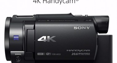 The Sony FDR-AX33 4K camcorder will cost $1000