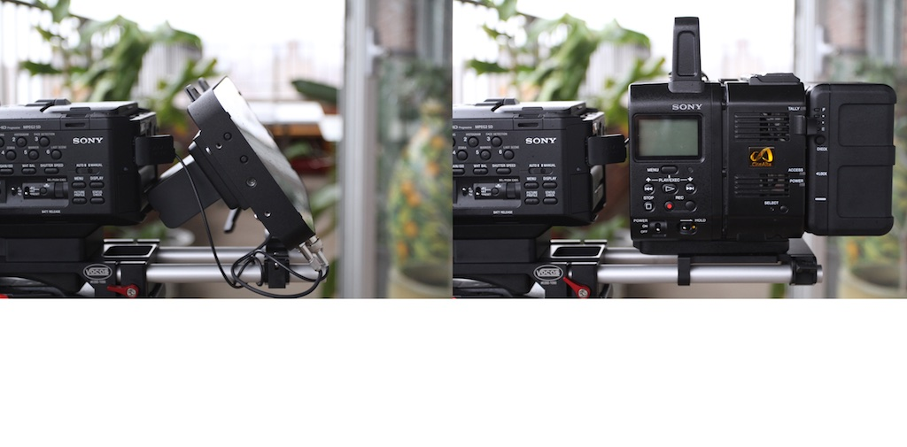 Odyssey 7Q vs Sony AXS-R5 c