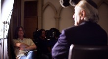 Director Richard Trank interviewing Yehuda Avner for The Prime Ministers | Moriah Films