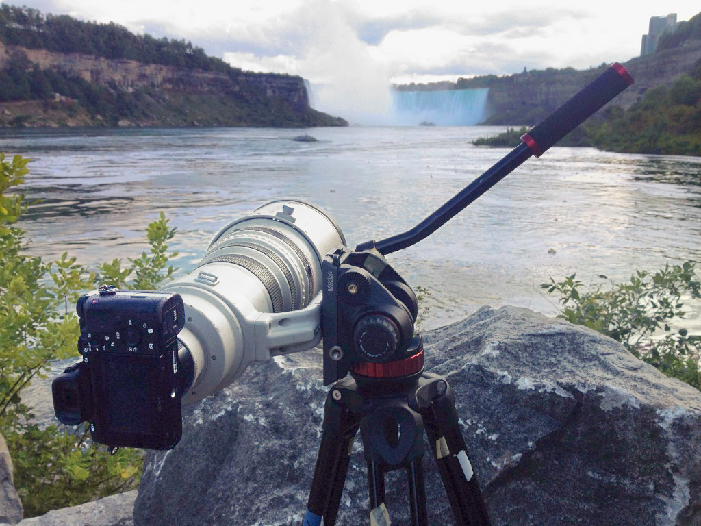 a7S at Niagra Falls d