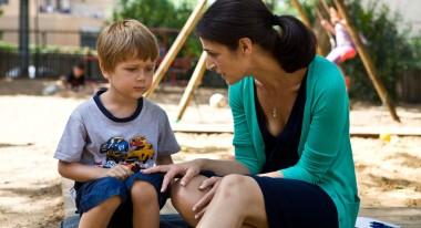 Avi Schneidman, Sarit Larry in The Kindergarten Teacher
