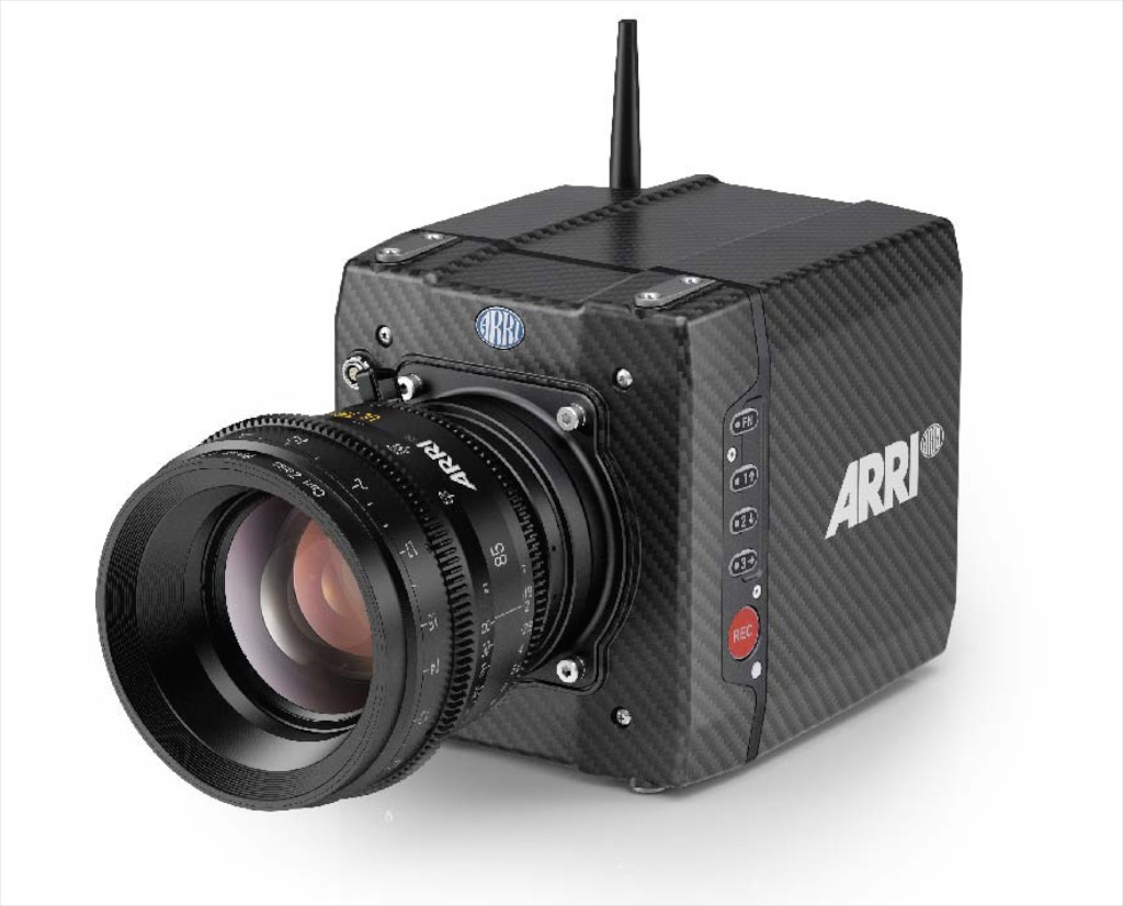 ARRI ALEXA Mini. 5 lbs. of advanced materials and forward design.