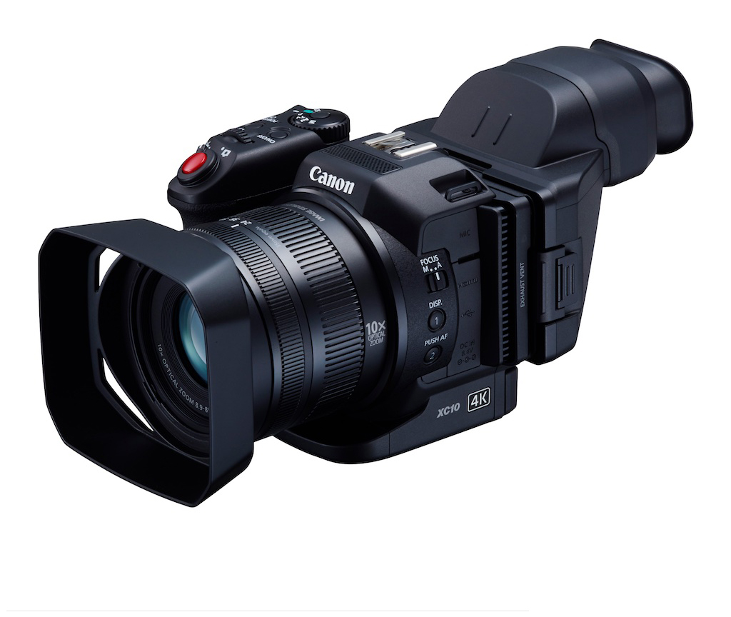 Hybrid Canon XC10