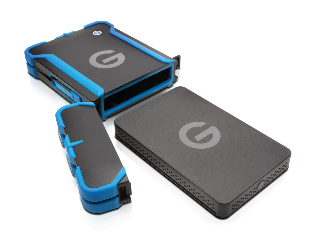 New Rugged Hard Drives From Lacie And G Tech Filmmaker